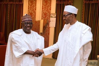 Nasarawa State Governor Almakura Meets President Buhari