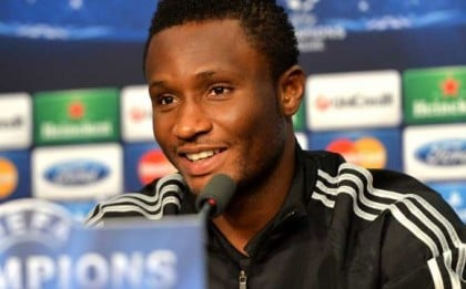 Villas Boas Woos Mikel To China With $212,000-a-Week Deal