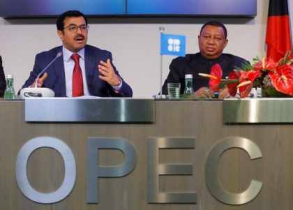 OPEC agree to cut oil output by about 1.2 million bpd