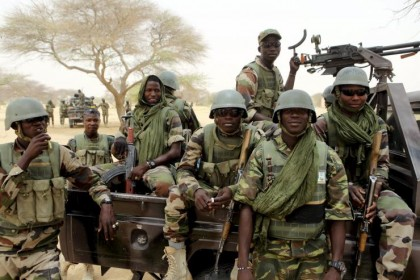 'Nigerian troops to train' in Boko Haram's ex-bastion