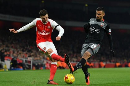 Arsenal vs Southampton Ends 0:2 and Manchester United Through To EFL Semi