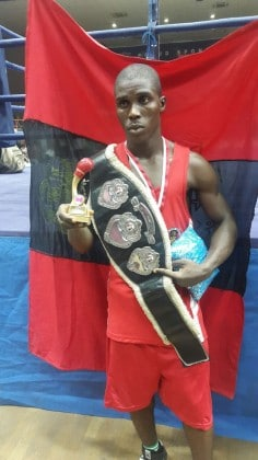 Nigerian Soldier Excels In Boxing, Wins International Boxing Tournament