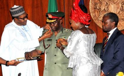 RE: President Buhari Drops 2 Service Chiefs