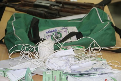 Parade of Suspects in Rivers Rerun Election INEC Materials recovered
