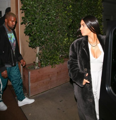 Any Room For Kanye West At Kim K's…