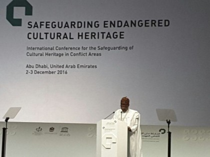 Nigeria Calls For Sensitization of Communities On Protection Of Cultural Heritage