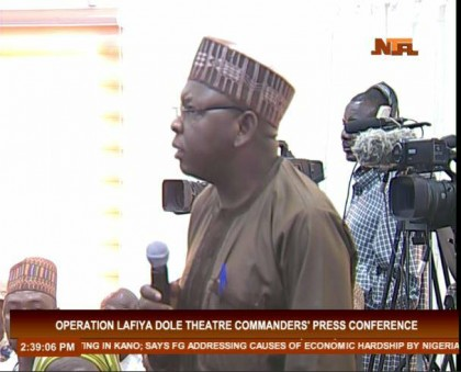 Update of Operation Lafiya Dole By Theater Commander Major General Leo Irabor