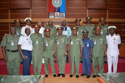 13 Senior Officers Promoted Decorated By CDS Gen. Olonisakin