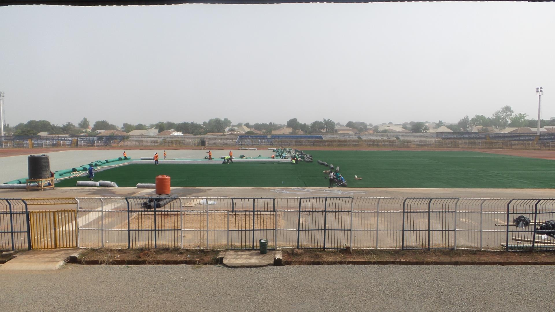 Solid Miners Ground Goes AstroTurf In Lafia