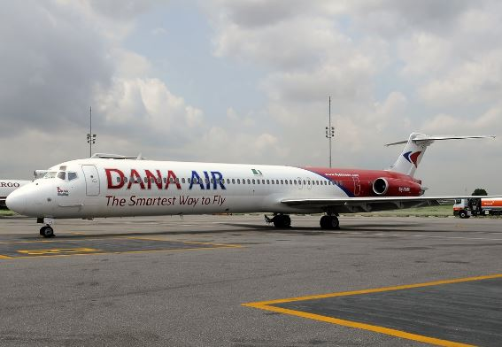 Dana Air Debunks Rumours Of Plane Crash