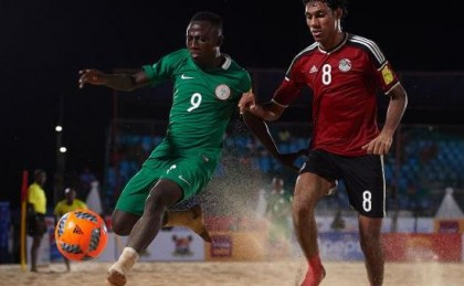Beach AFCON: Host Nigeria Scale First Hurdle
