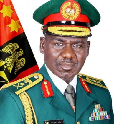 Lt. Gen. TY Buratai Christmas and New Year 2017 Goodwill Message To Officers and Soldiers