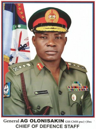 Message To Nigerians From Chief of Defence Staff Gen. Olonisakin