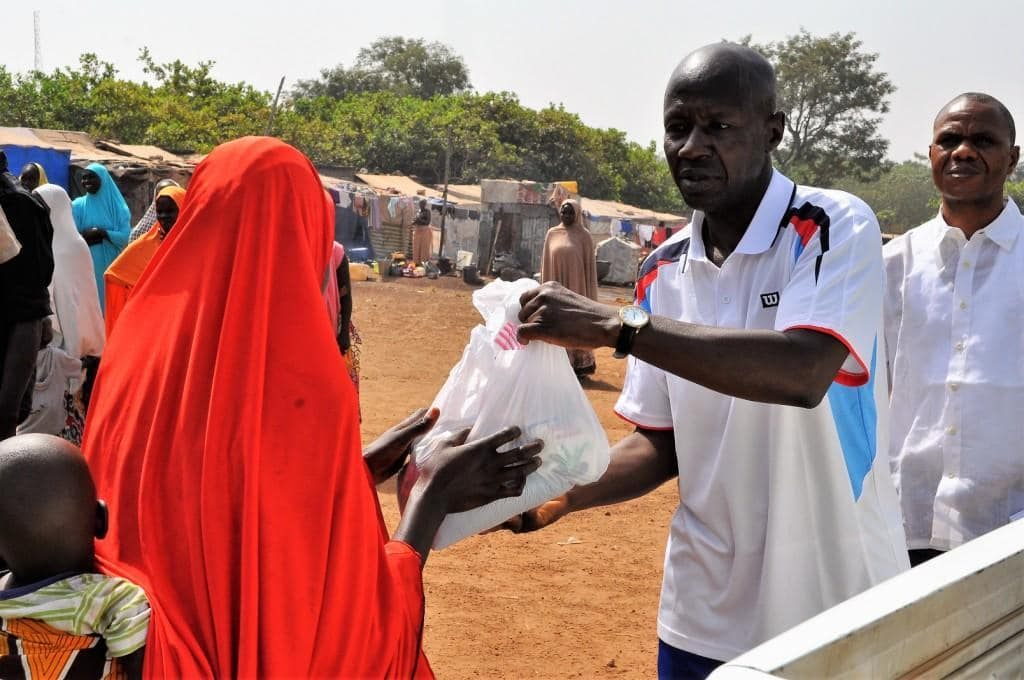 Ibrahim Magu Reassures Internally Displaced Persons