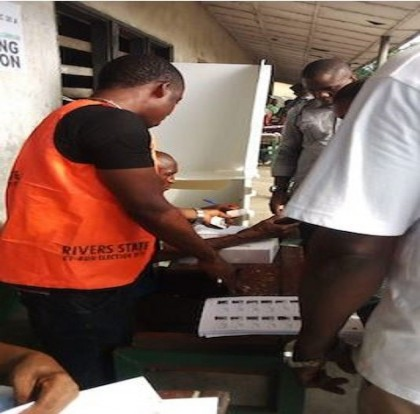 #RiversRerun: Voting In Progress At Various Polling Unit In Rivers State