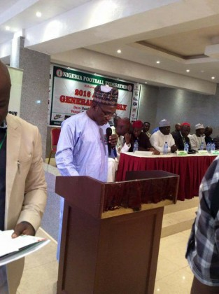 Full Speech of Minister of Sports At The NFF AGM