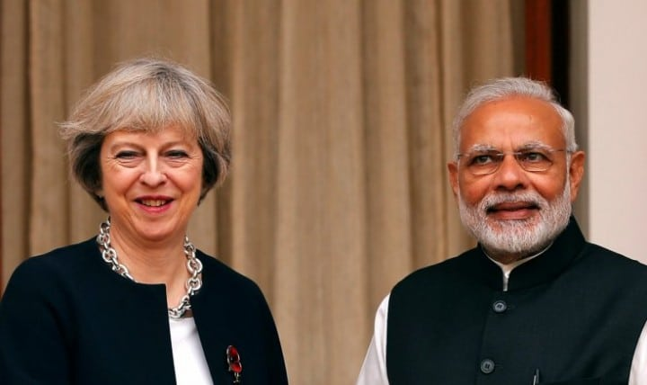 Indian-PM-and-UK-PM