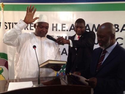 Gambian President Adama Barrow Thanks President Buhari