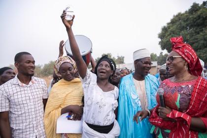 Aisha Buhari Provides Safe Drinking Water To Community