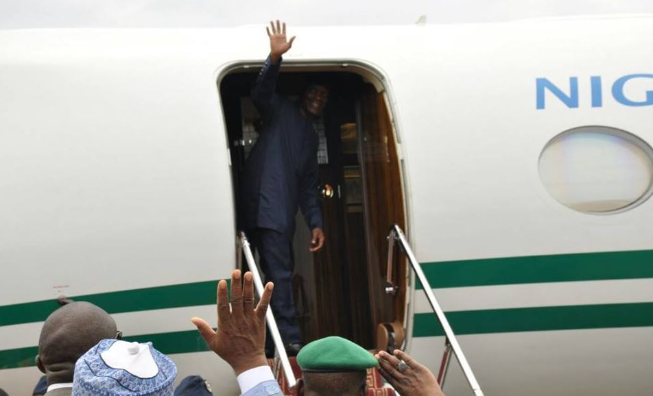VP Osinbajo Leads Nigeria's Delegation To World Economic Forum In Davos