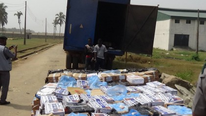 Seme Border Intercepts Smuggled Poultry Products