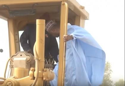 Senate President Saraki Flags-Off Road Construction In Zamfara