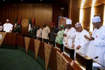 Update on Federal Executive Council Meeting