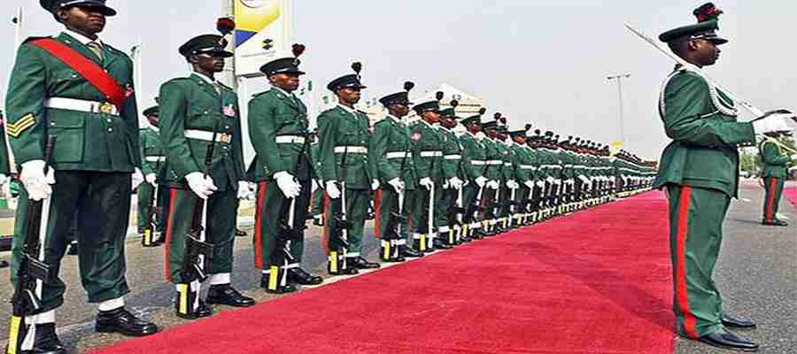 Be Wary of Fraudsters Nigerian Army Recruitment Is Free