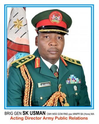 Press Briefing by Army Spokesman Brigadier General SK Usman