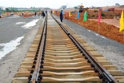 Standard guage rail