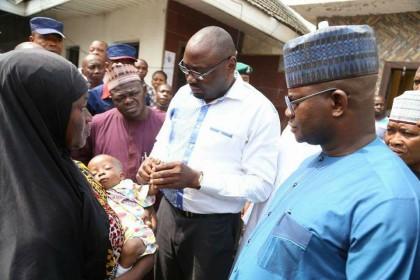Governor Bello Saves 10-Month Old Baby at State Staff Appeals Committee Center