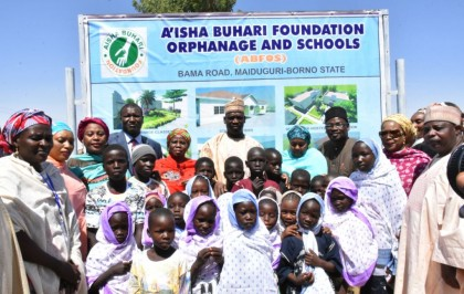 Aisha Buhari Builds Orphanage and School In Maiduguri