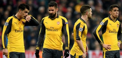 UEFA Champions League and Arsenal Round of 16 Exit Story