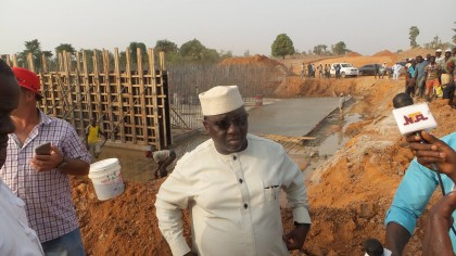Progress of Work At The Airport Road and Lafia Airport – Gov. Almakura
