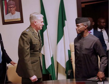 Time For Nigeria, US To Deepen Relationship Based On Trust, Says Ag. President Osinbajo