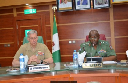 We are committed to making Nigeria succeed says US AFRICOM commander