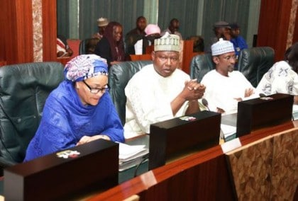 Amina Mohammed In Last Federal Executive Council Meeting