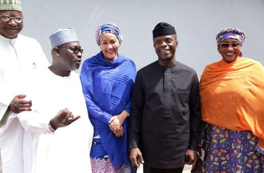amina mohammed-fec-meeting