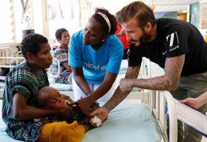 UNICEF's Statement On Beckham: 'Extremely Proud Of The Work He Has Done'