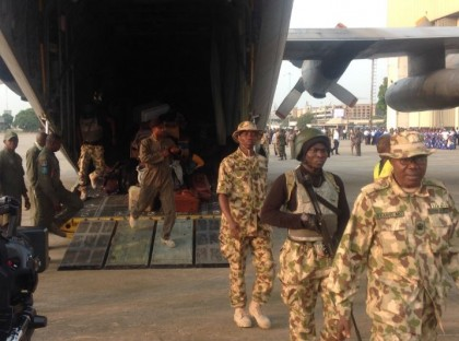 NAF Contingent On Operation Restore Democracy In Gambia Returns