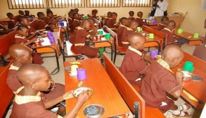 FG Serving 1 Hot Meal A Day To Over 1 Million Pupils In 7 States