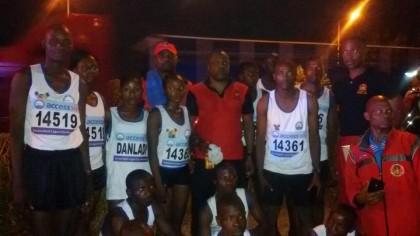 Lagos Marathon: Team Nigerian Army Smiles Home