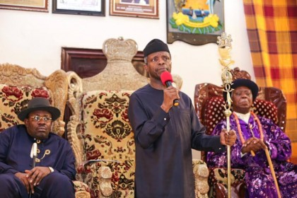 Our Mission For Niger Delta – Acting President Prof. Yemi Osinbajo