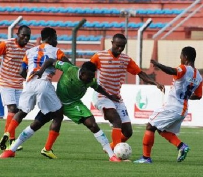 Nigeria Professional Football League Match Day 13 Results