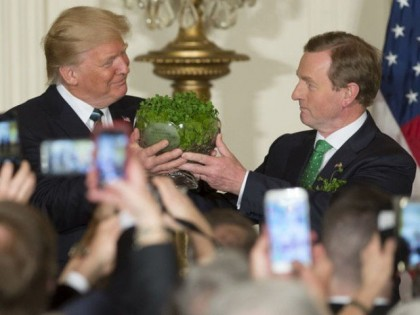 President Donald Trump Called A Nigerian Poem Irish