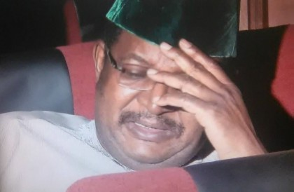 Breaking: Former GMD NNPC, Andrew Yakubu Goes To Prison