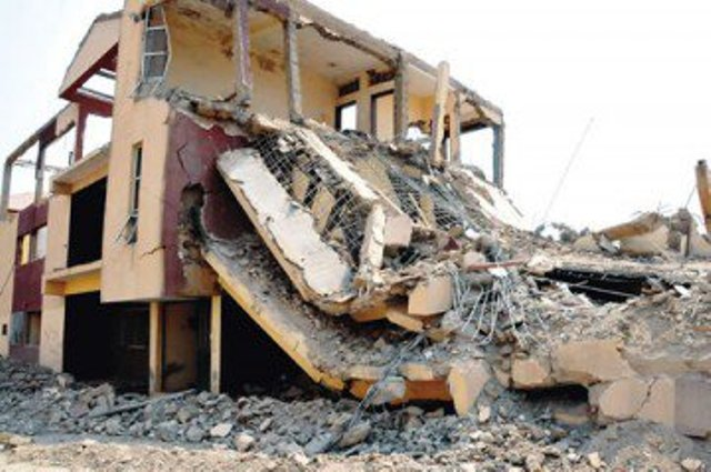 Building Collapse: Delta Govt. seals 15 buildings in Asaba