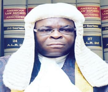 Onnoghen To Be Sworn-In As Chief Justice Today