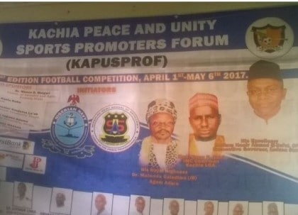 20 Teams For Maiden Kachia Football Competition In Kaduna