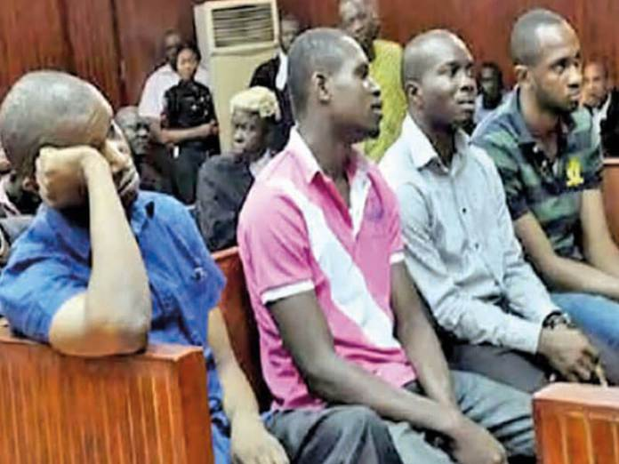 Accused in the murder of Cynthia Osokogu(PHOTO: THISDAY)